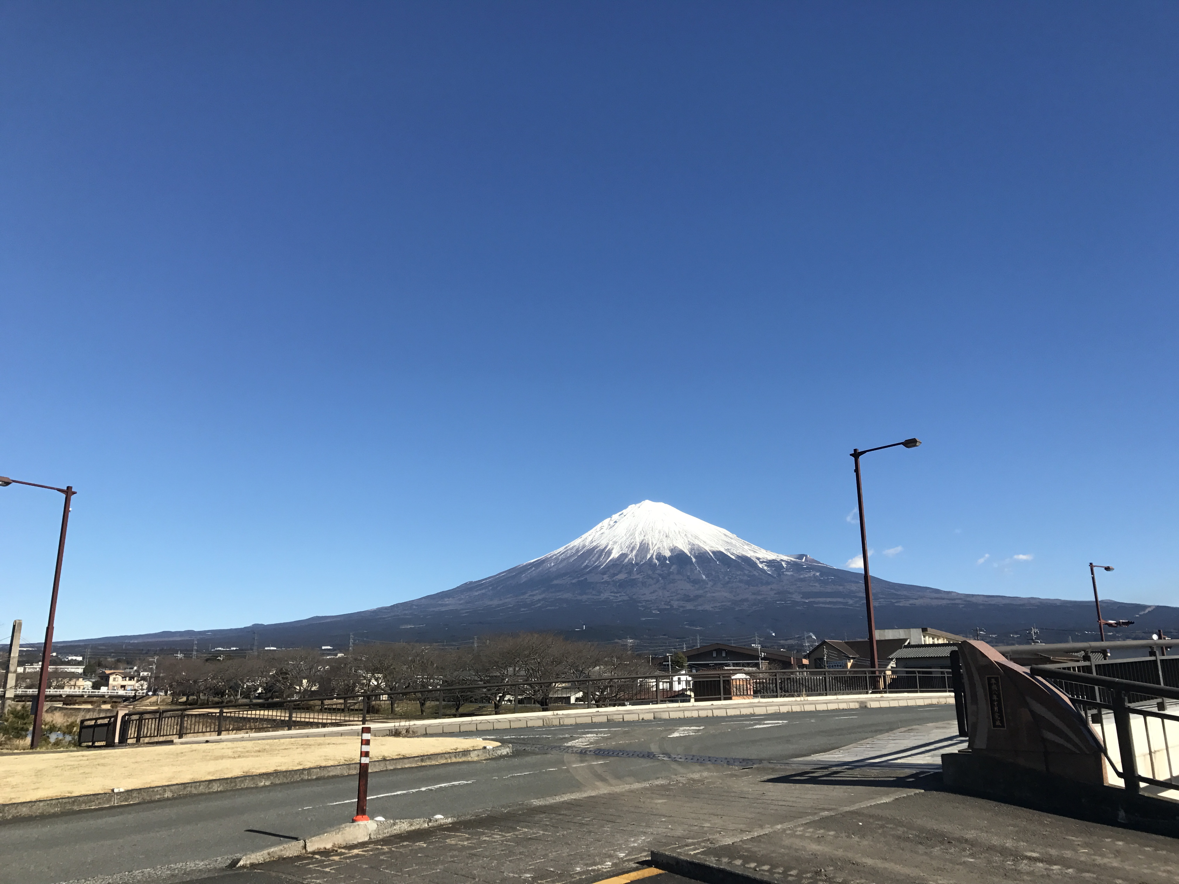 富士山の形~いつもと違う角度から~